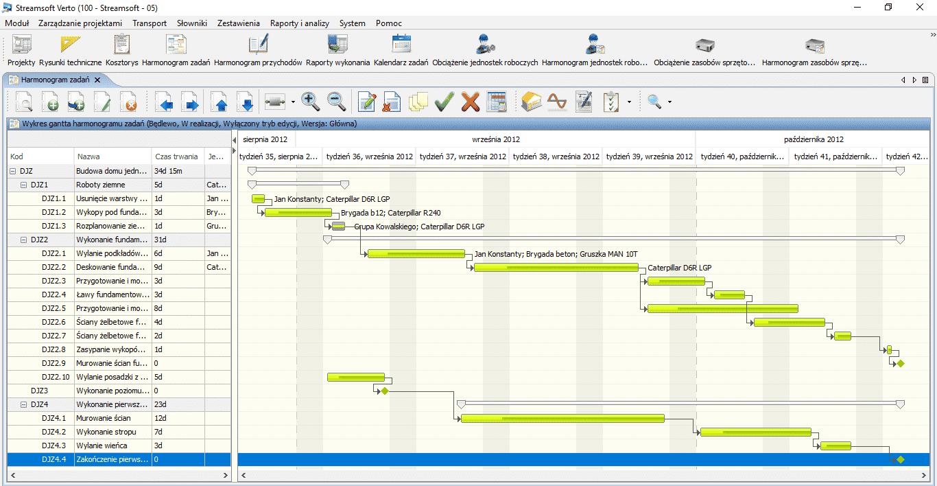 Zarzdzanie projektami streamsoft interfejs systemu ccuart Gallery