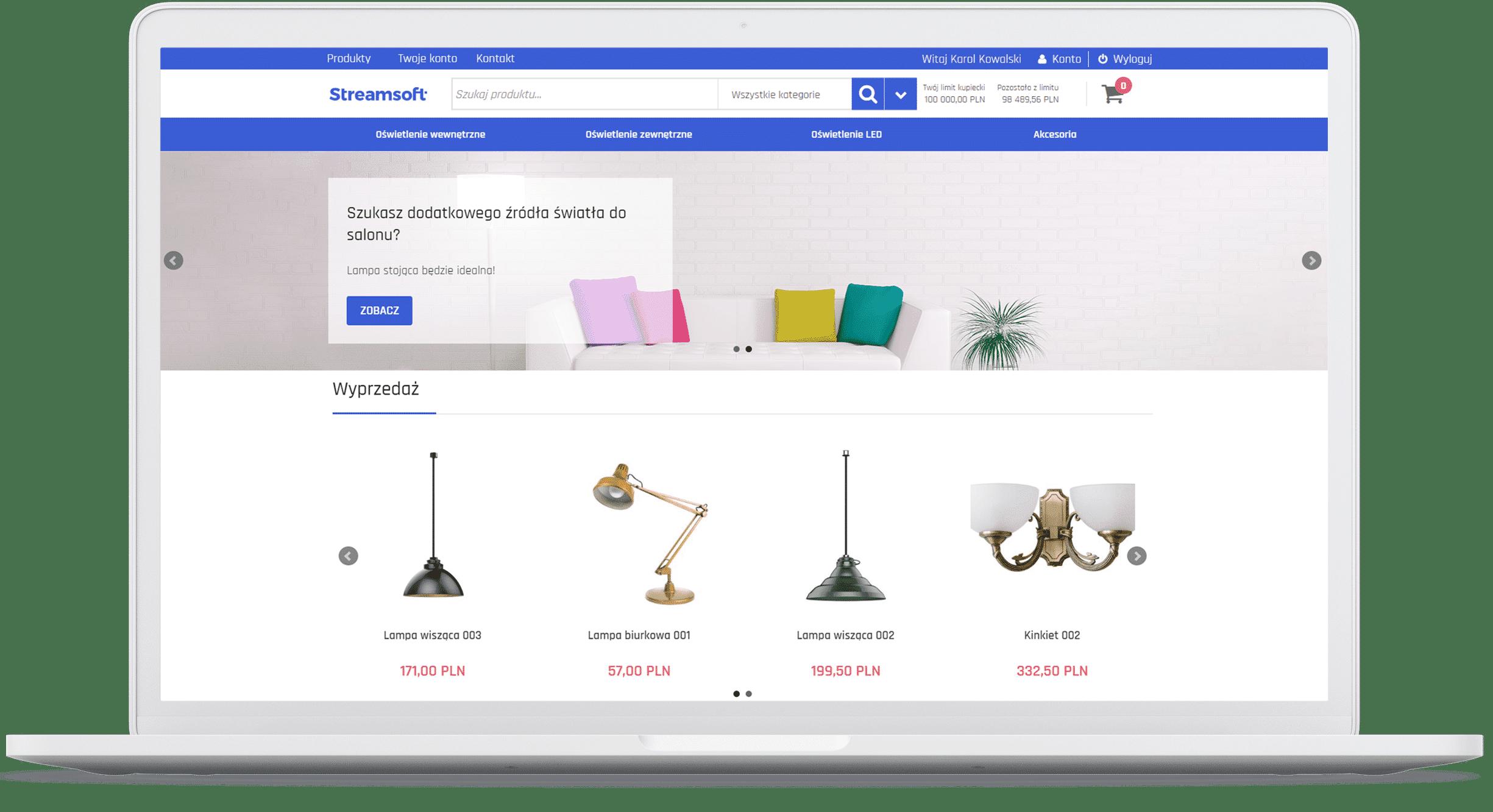 B2B Zamówienia Internetowe